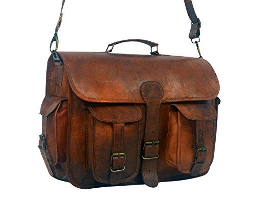 Serguio Rogetti - Bolso al hombro para hombre marrón marrón Briefcase / Satchel