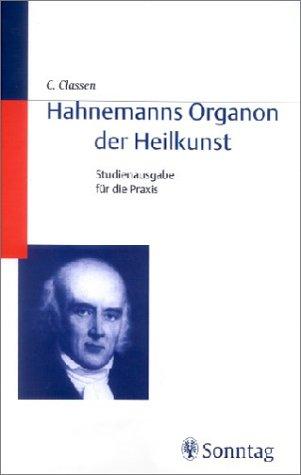 hahnemanns organon der heilkunst studienausgabe fr die praxis