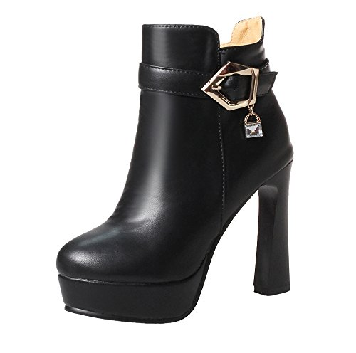 Women's Classic Women's Boot AIYOUMEI Black Classic Boot AIYOUMEI Boot Women's Black AIYOUMEI Women's Black Classic AIYOUMEI OIOqAaTy1H