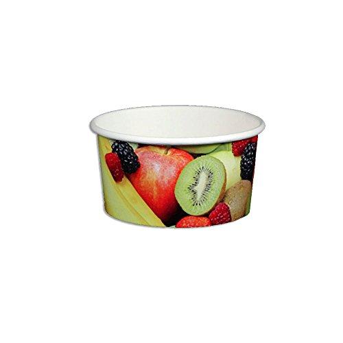 6 oz ice cream paper cups - 5