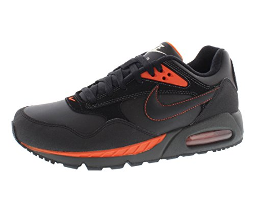 free shipping 097df 6b318 Nike Air Max Correlate Leather Mens Running Shoes 518292-080 Black 10 M US  - Buy Online in Oman.   Apparel Products in Oman - See Prices, Reviews and  Free ...