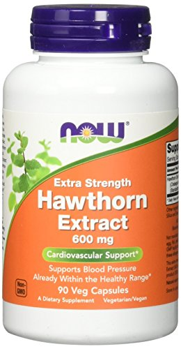 NOW Foods Hawthorn Extract 600 mg, 90 Count - 41WT23GtbzL - NOW Foods Hawthorn Extract 600 mg, 90 Count