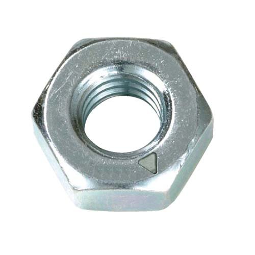 Metric Hexagonal (Hex) Full Nut Grade 8 Steel Zinc Plated M3.5 3.5mm (Pack of 50 nuts) AHC