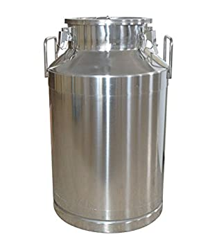 53 gallon stainless steel milk pail can toe 20l storage bear wine rice food storage can