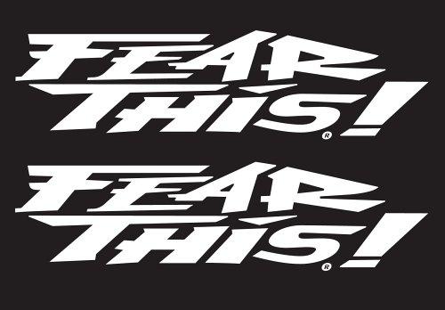 - Chroma Graphics Fear This Die Cutz - White Decal