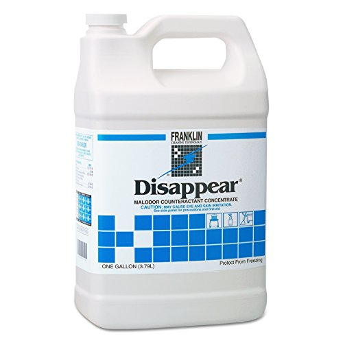 Franklin Cleaning Technology F510522 Disappear Concentrated Odor Counteractant, Spring Bouquet Scent, 1 Gallon (Case of 4) by Unknown