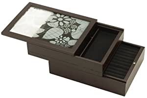 Umbra Julia Etched Glass Jewelry Box