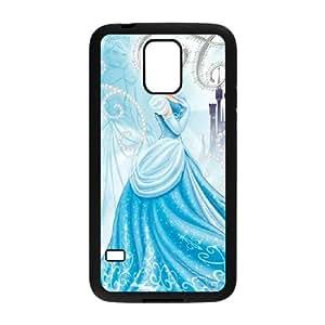 Disney Cinderella Character Cinderella Samsung Galaxy S5 Cell Phone Case Black K1G8UH