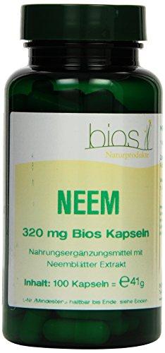 Bios Neem 320 mg, 100 Kapseln, 1er Pack (1 x 41 g)