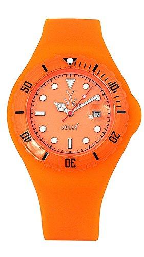 Toy Watch Women's JYD03OR Jelly Fluo Orange Rubber Watch