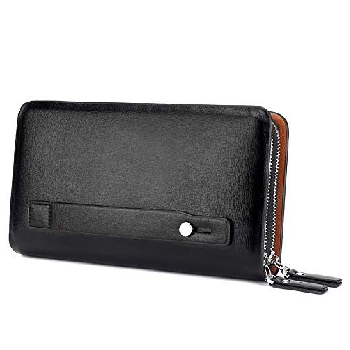 Amazon.com: Lannmart Men Wallets Leather Male Purse Mens ...