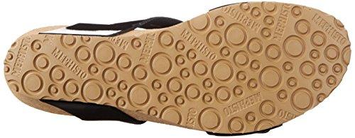 Mephisto Womens Lissandra Platform Dress Sandalo Nero Patent