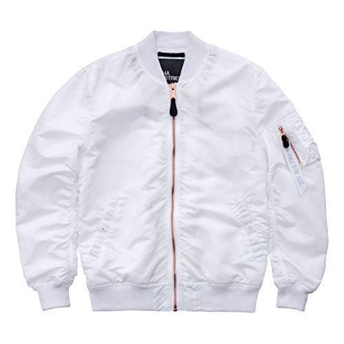 Jacket Alpha White Jacket Alpha Alpha White Man Man rn61Xra