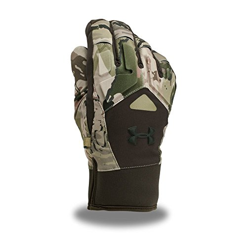 Under Armour Men's Scent Control Primer 2.0 Gloves, Ridge Reaper Camo Ba (901)/Black, Medium