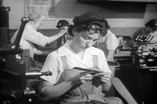 Females in the Workforce During WWII Sexist Movie: Supervising Women Workers DVD (1944) (Womens Roles In The Military During Ww2)