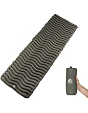 Unigear Ultralight Inflatable Sleeping Pad, Compact Air Camping Mat,Lightweight Camping Mattress for Backpacking, Hiking and Traveling