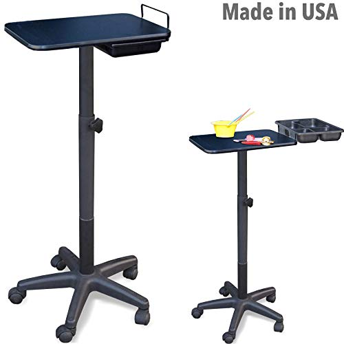 2900 Salon SPA Adjustable Utility Chemical Coloring Cart Tray w/Drawer Made in USA by Dina Meri