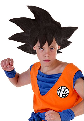 Child Goku Wig Standard (King Kai Costume)