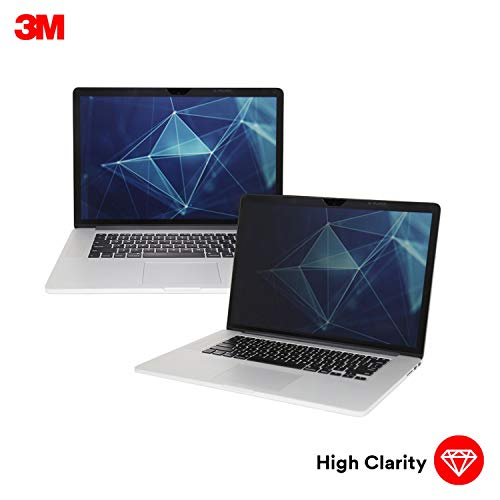 3M high Clarity Privacy Filter for Apple MacBook Pro 15 2016 Model or Newer with Comply Attachment System (HCNAP002)