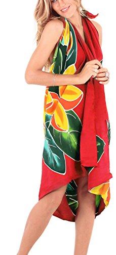 hawaiian wrap dress - 7