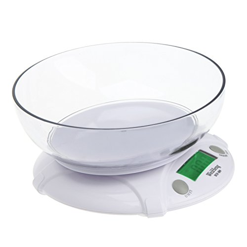 3KG/0.5G Digital Electronic Kitchen Scale Parcel Food Weight with Bowl Weighing Scales