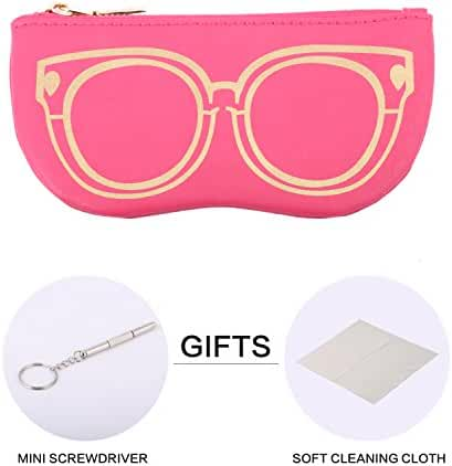 Bertha Premium Eyeglasses | Sunglasses Pouch Collection | 100% | Pack of 1pc 023