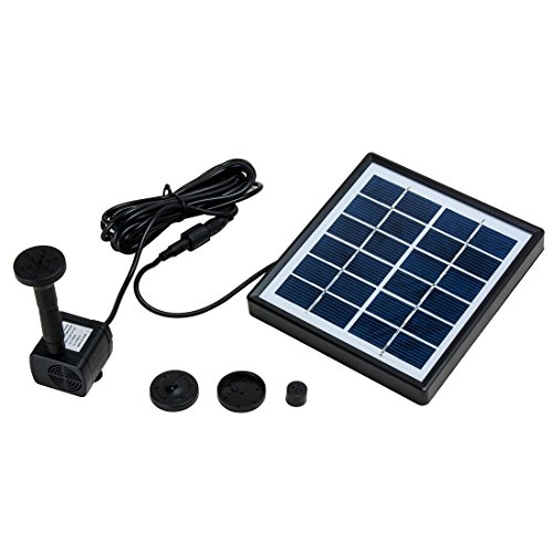 uxcell 1.5W Outdoor Solar Fountain Pump  - 1.5w Solar Panel Shopping Results