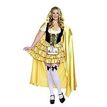 Dreamgirl Women's Plus-Size Goldilocks Fairytale Costume