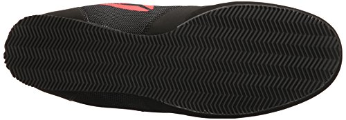 Reebok Men's Boot Boxing Shoe, Buck-Delta-Black/Black/White, 10 M US