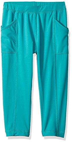 White Sierra Girl's Bug Free Leggings, Lagoon, Small by White Sierra