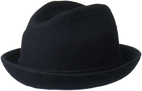 Player Kangol Wool - Kangol Unisex-Adult's Wool Player Cap, Dark Blue, M