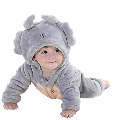No Costumes Sign (StylesILove Baby Boy Zodiac Sign Fleece Animal Costume Jumpsuit (12-18 months, Scórpio))