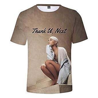 Ariana Grande /à la Mode Thank U Next T-Shirt pour Fille en /ét/é