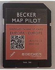 Mercedes Becker Map Pilot GPS SD-kaart Europa V21 2021 (M054, M075, M07, M083, M084, M085, M092, M097)
