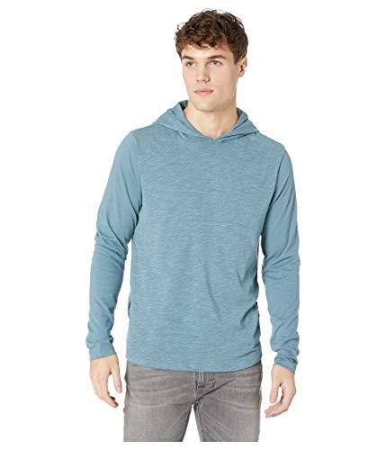 Hurley Men's Dri-Fit Lagos Hooded Pullover Celestial Teal Medium (Cotton Fit Dri Mens)