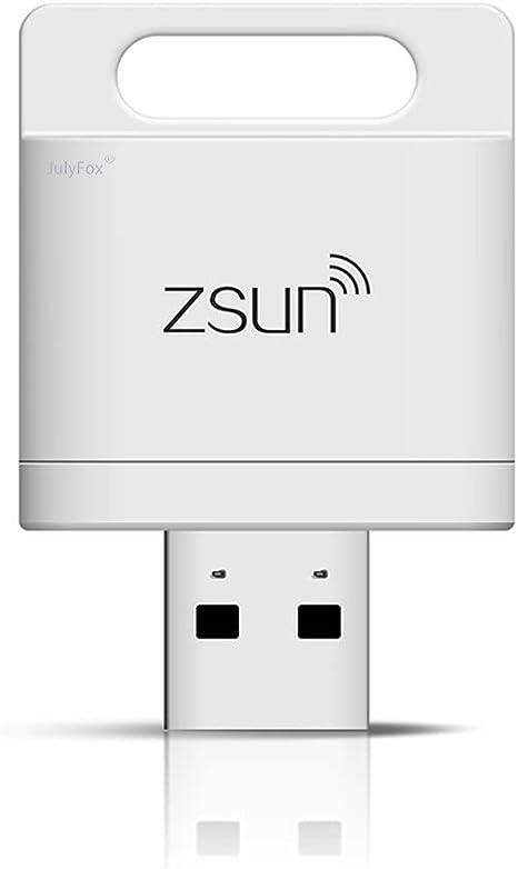julyfox lector de tarjetas WiFi Apoyo 2TB TF MicroSD Card iPhone ...