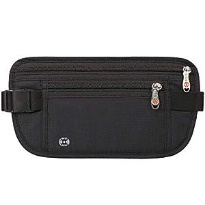 Freelynn Cintura Marsupio Portasoldi da Viaggio Nascosto Donna e Uomo, Antiscippo con Blocco RFID, per Sportivo, Running… 10 spesavip
