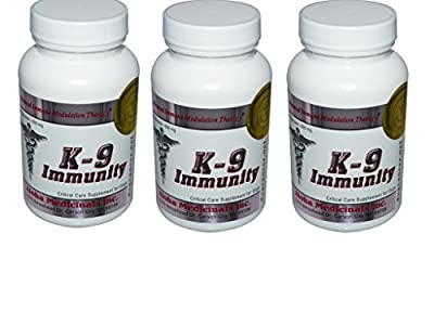 K9 Immunity - Potent Immune Support for Dogs 84 Capsules by Aloha Medicinals