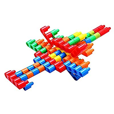 Interlocking Building Bullet Blocks Set Children Intelligence Construction Toys 100PCS: Health & Personal Care