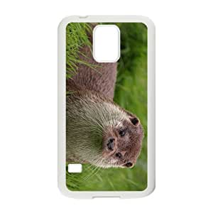 Otter in Glass Hight Quality Plastic Case for Samsung Galaxy S5