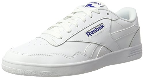 Reebok Herren Royal Techque T LX Sneaker Weiß (White/Collegiate Royal)