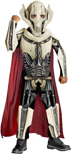 [Deluxe General Grievous Costume - Small] (Star Wars General Grievous Child Costumes)