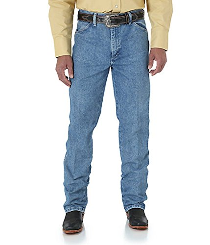 Wrangler Men's Cowboy Cut Slim Fit Jean, Antique Wash, 31x30