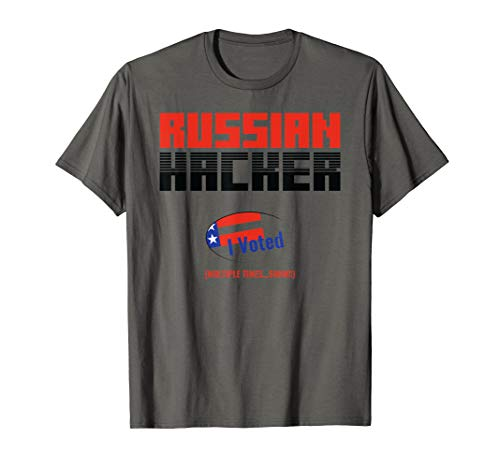 Halloween Russian Hacker Costume Soviet Union Funny Shirt -