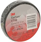 TAPE,ELECT,3M TARTAN 1710,VINYL TAPE,3/4 INCH x60FEET,#49656