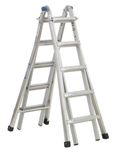 Werner MT-26 300-Pound Duty Rating Telescoping Multi-Ladder, 26-Foot by Werner