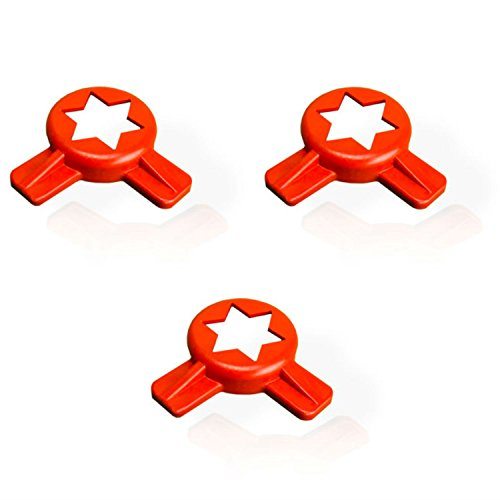 Star Cap for Taylor Soft Serve Machines - 014218 - (3 - Taylor Stars
