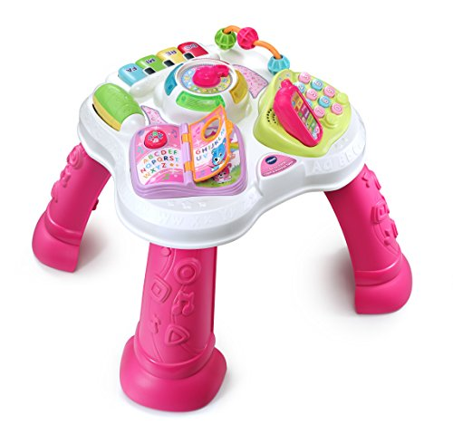 Image of the VTech Sit-To-Stand Learn & Discover Table, Pink