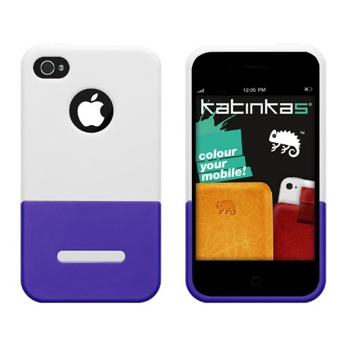 Katinkas Combo Case-Serie Dual Case für Apple iPhone 4/4S weiß