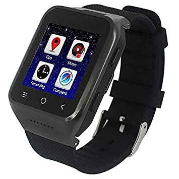 YONIS Montre Connectée Android 4.4.2 4 GB Carte TF 8GB WiFi ...